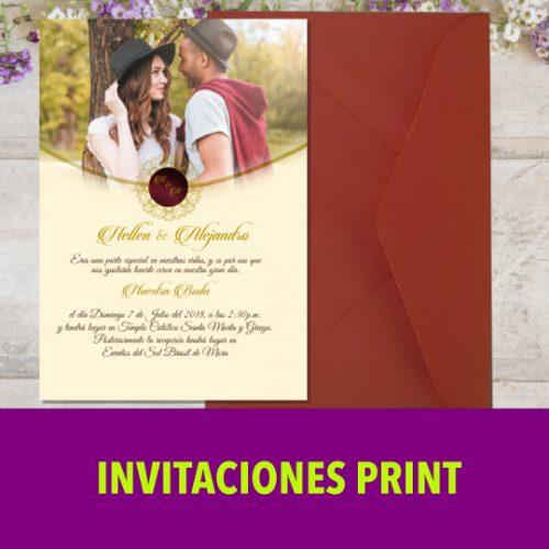 Invitación Print