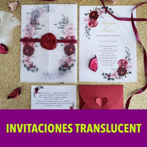 Invitación Translucent